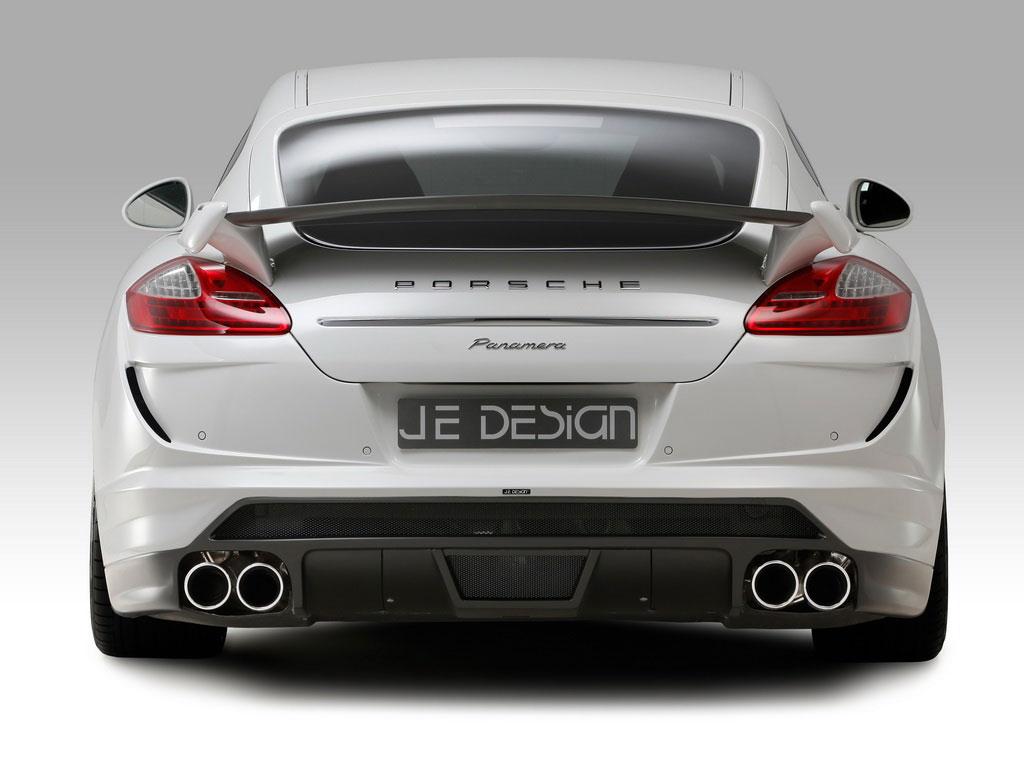 Porsche Panamera Turbo od JE Design má 600 koní 3