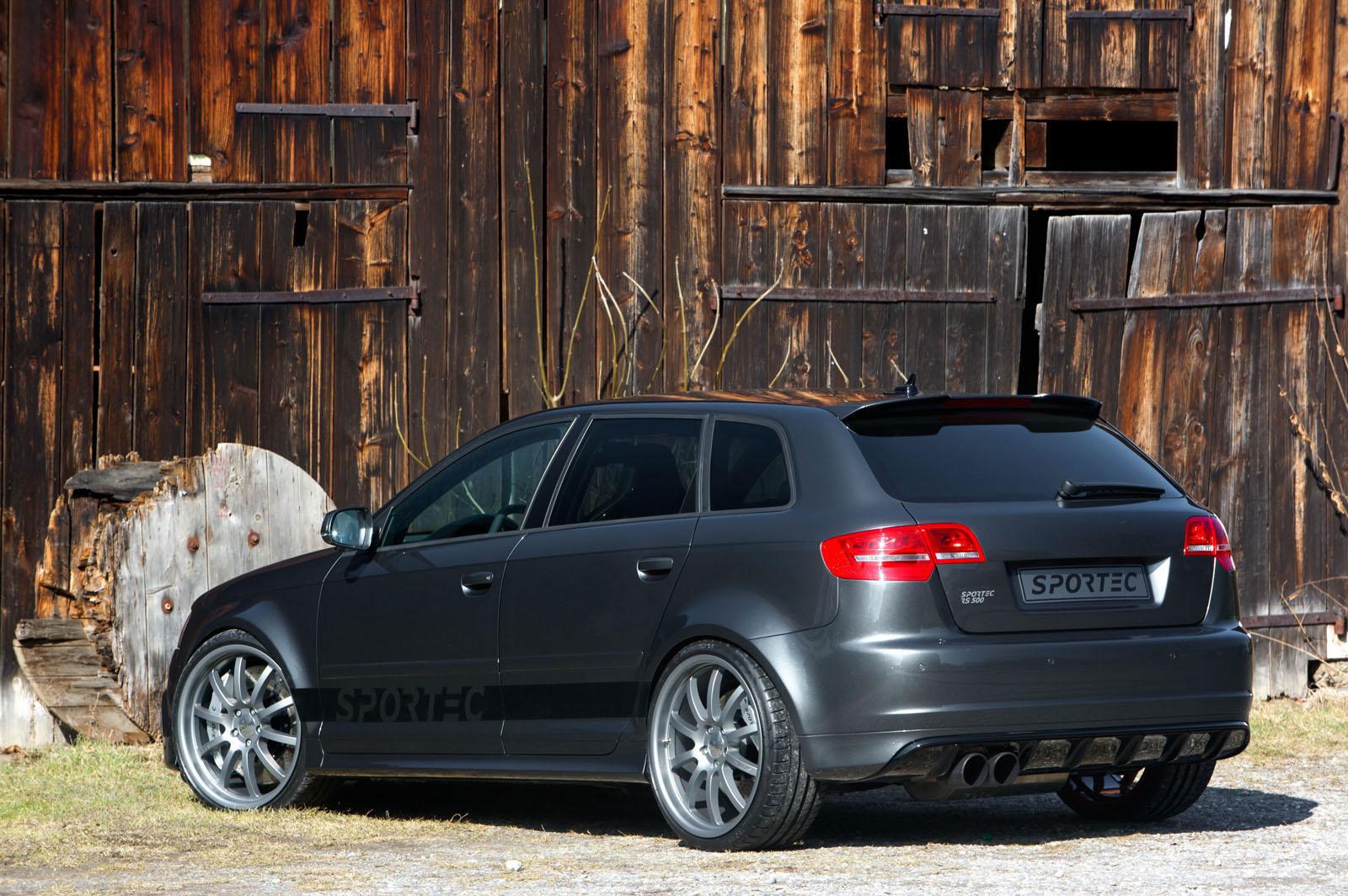 Sportec dostal z Audi RS3 Sportback výkon 500 koní 4