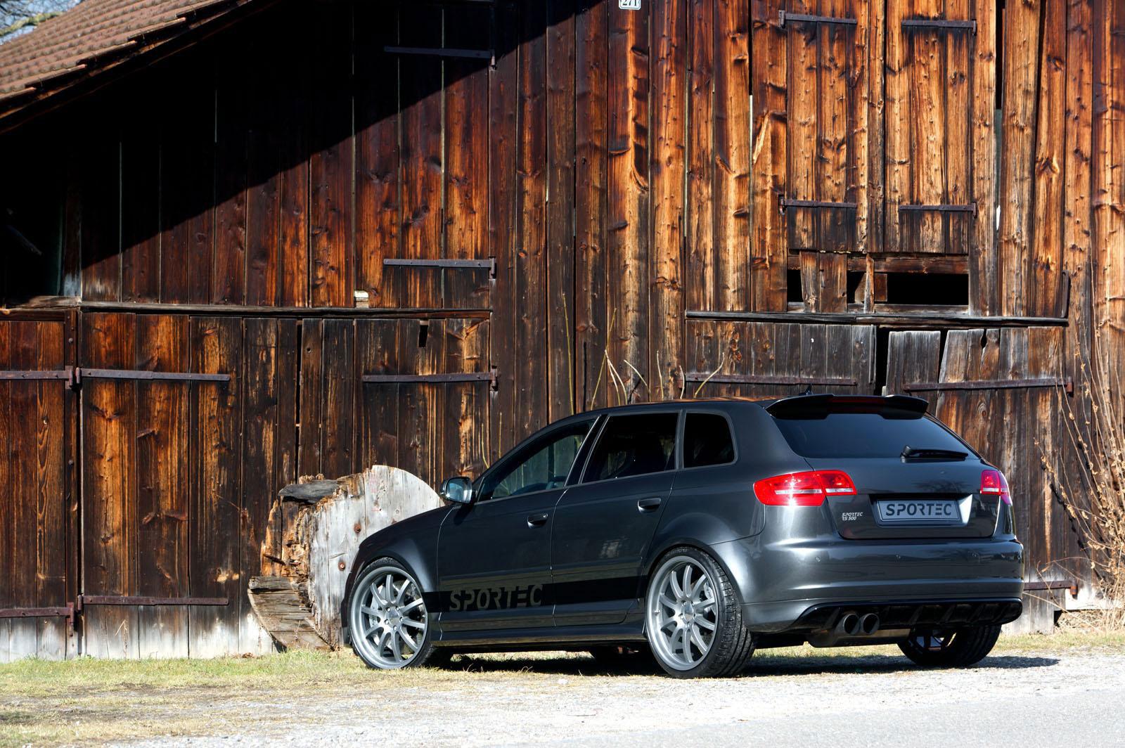 Sportec dostal z Audi RS3 Sportback výkon 500 koní 6