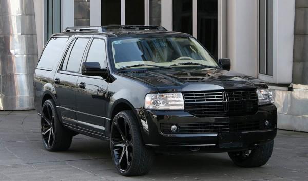 Anderson Germany představili černočerný Lincoln Navigator 1