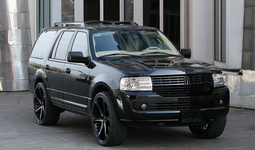 Anderson Germany představili černočerný Lincoln Navigator 3