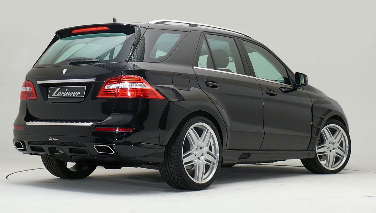 Nový tuningový balíček pro  Mercedes-Benz ML od Lorinser 2
