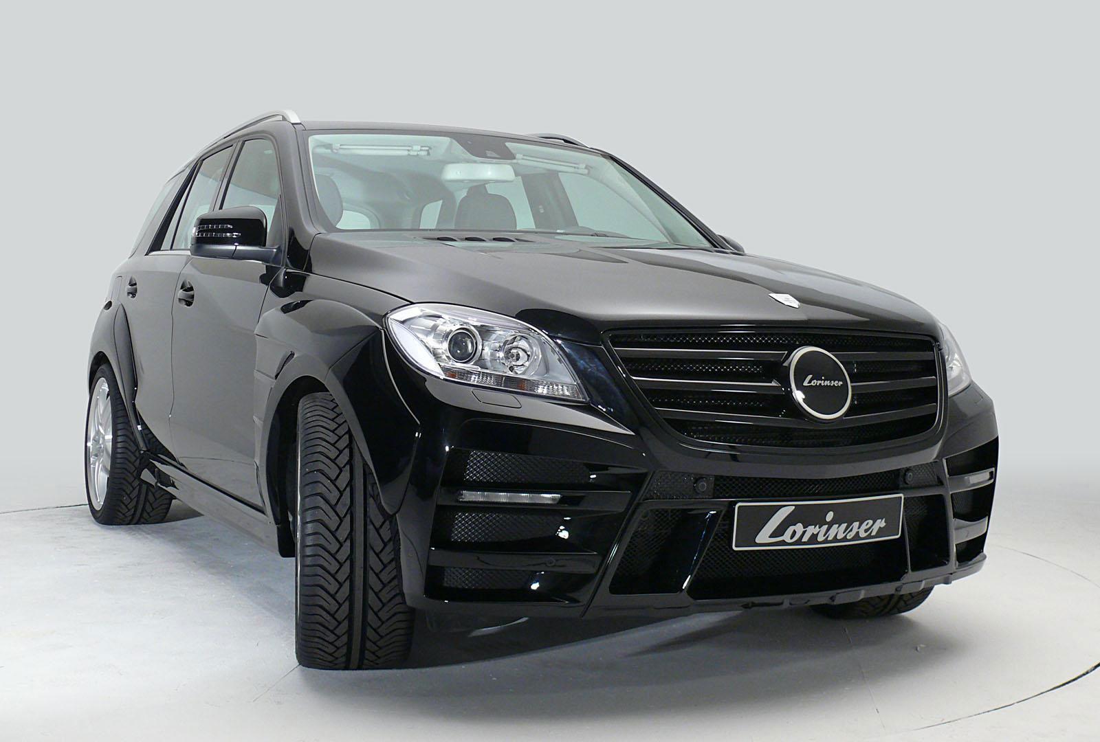 Nový tuningový balíček pro  Mercedes-Benz ML od Lorinser 3