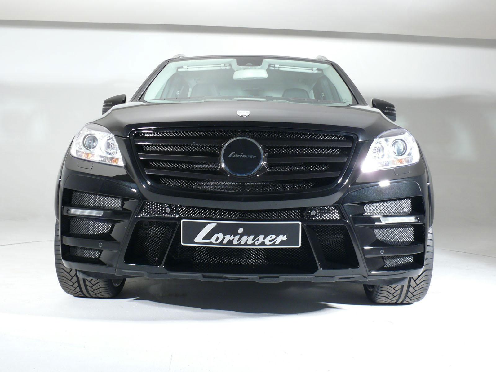 Nový tuningový balíček pro  Mercedes-Benz ML od Lorinser 7