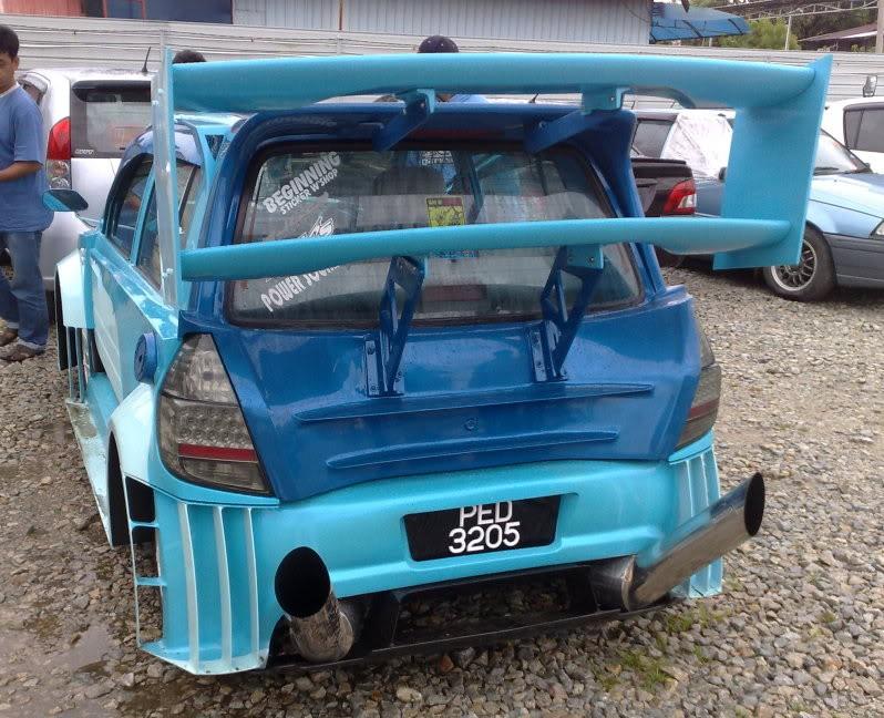 Perodua Kancil prodělala šílenou úpravu 3