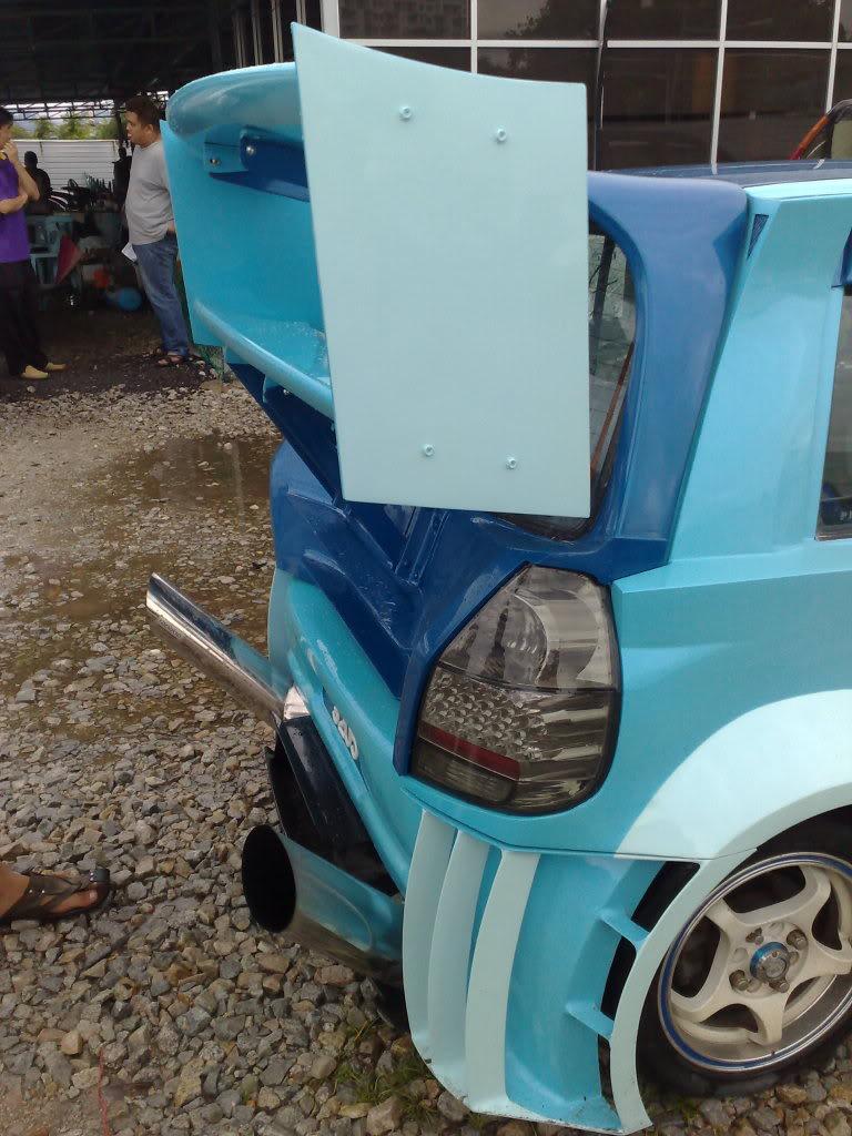 Perodua Kancil prodělala šílenou úpravu 4