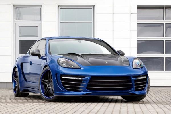 TopCar vylepšil svoje původní Porsche Panamera Stingray GTR 1