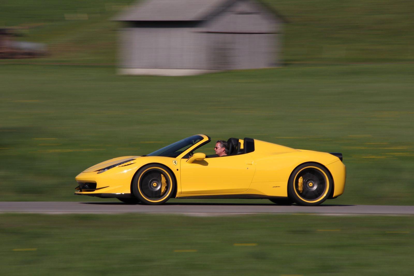 Ferrari 458 Spider - 609 koní od Novitec Rosso 8
