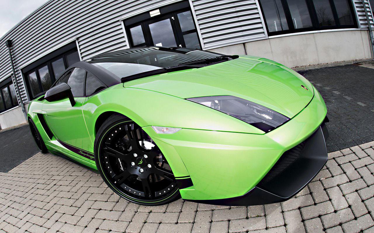 Lamborghini Gallardo Green Beret od Wheelsandmore 2