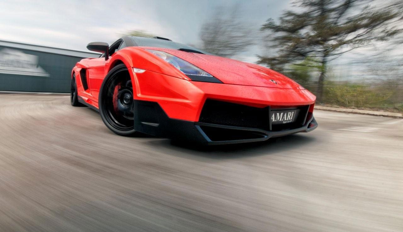 Lamborghini Gallardo Invidia 540 Edition od Amari Design 8