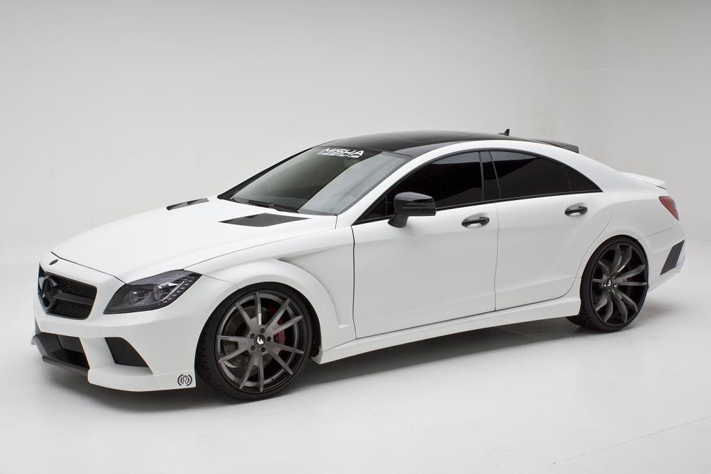 Misha Designs představil nový bodykit pro Mercedes CLS 2