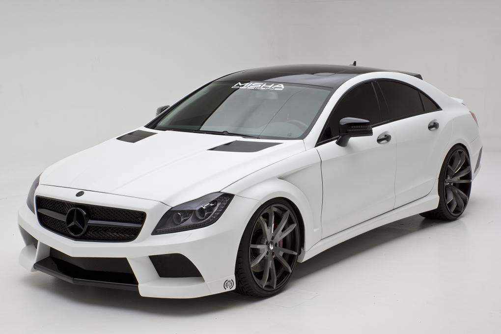 Misha Designs představil nový bodykit pro Mercedes CLS  4