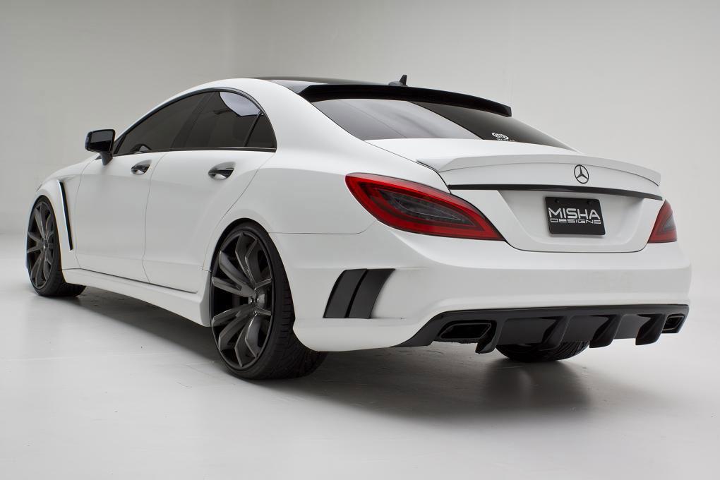 Misha Designs představil nový bodykit pro Mercedes CLS  5