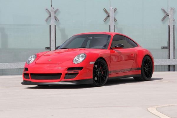 Porsche 911 Carrera 4S jako Red Baron 1