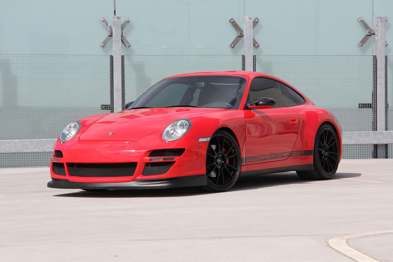 Porsche 911 Carrera 4S jako Red Baron 3