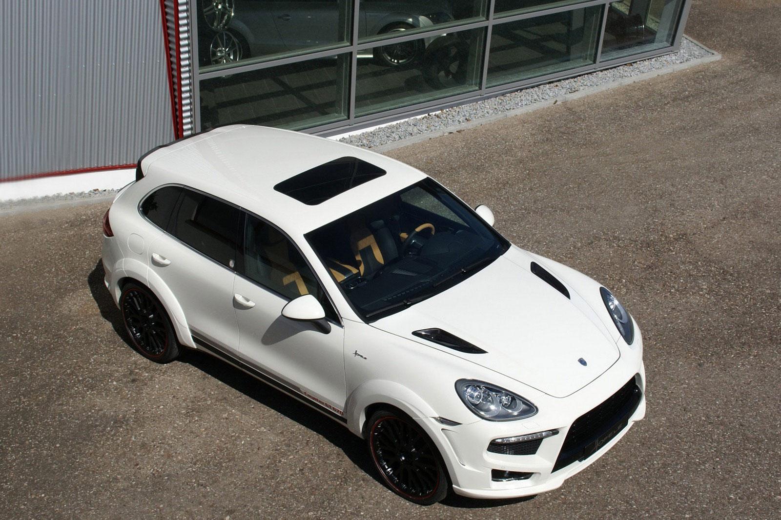 Porsche Cayenne prodělalo několik vylepšení u Hofele Design 6