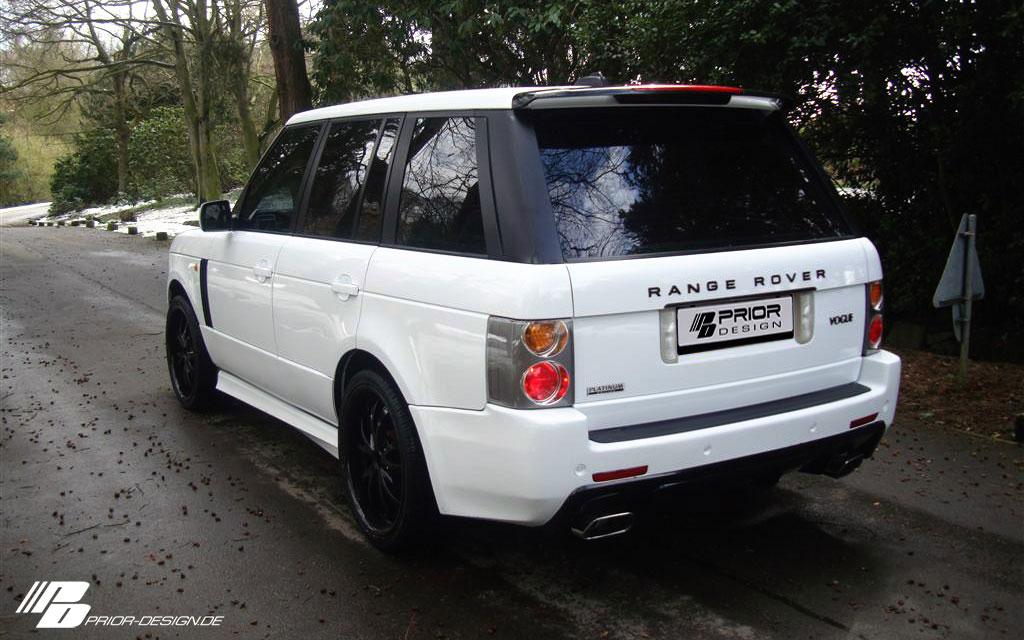 Range Rover a nový bodykit od Prior Design 2
