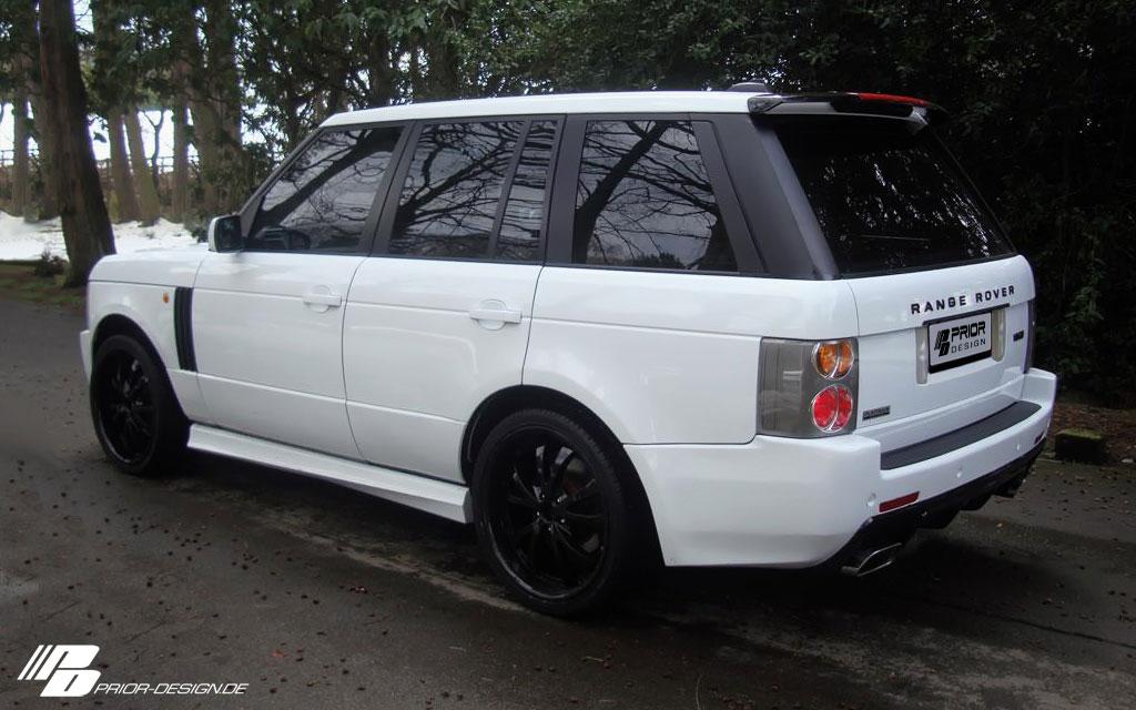 Range Rover a nový bodykit od Prior Design 3