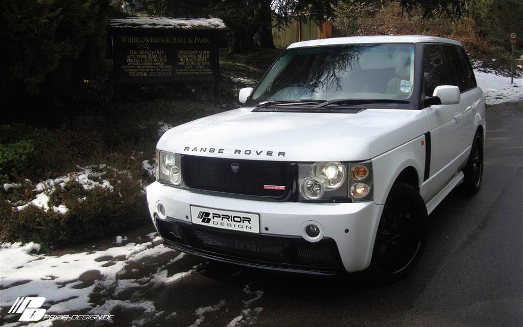 Range Rover a nový bodykit od Prior Design 4