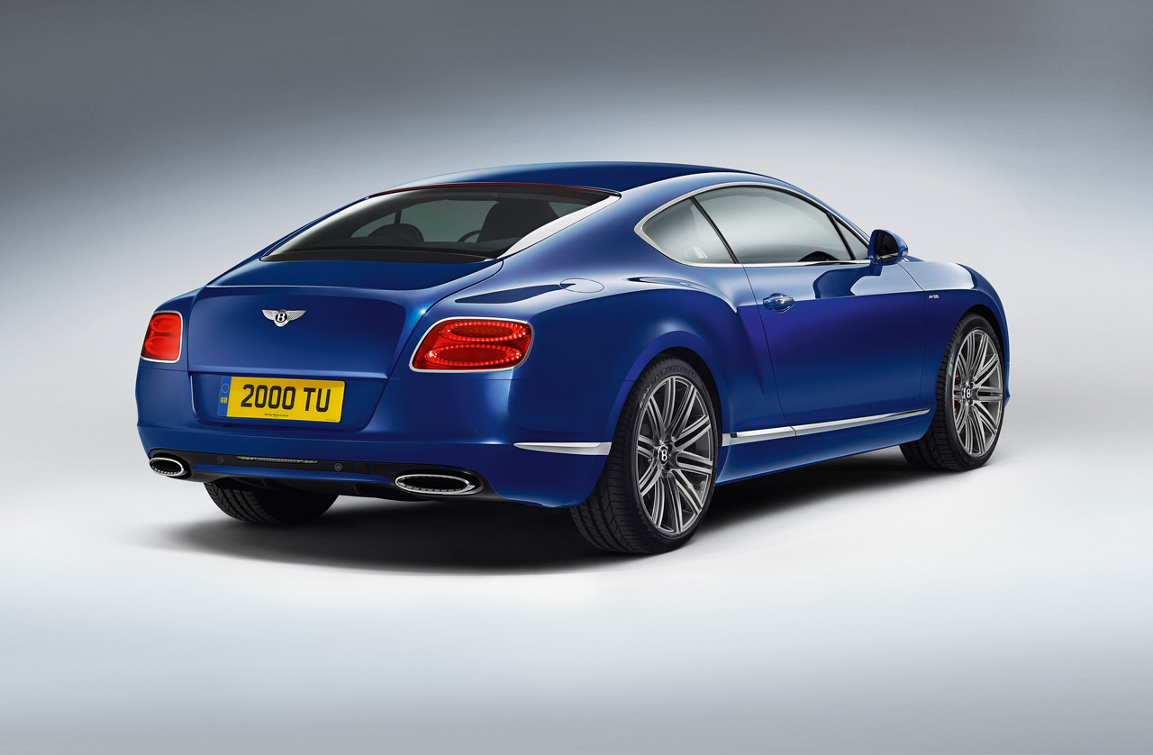 Bentley Continental GT Speed bude mít svou premiéru v Goodwoodu 2
