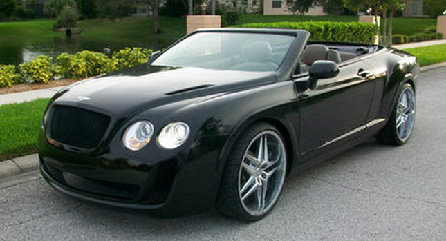 Chrysler Sebring převlečen za Bentley Continental 1
