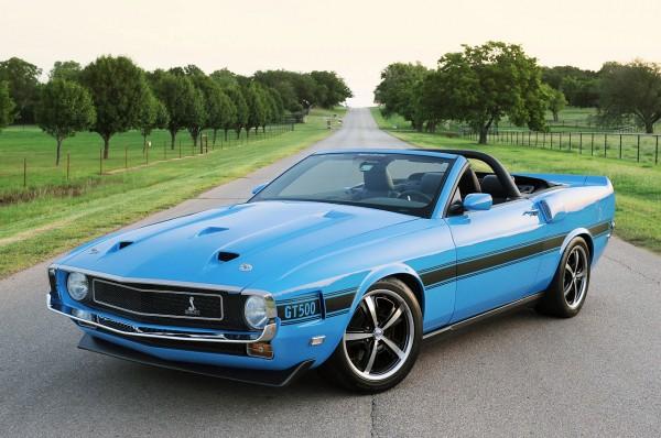Ford Mustang předělán do retro stylu 1