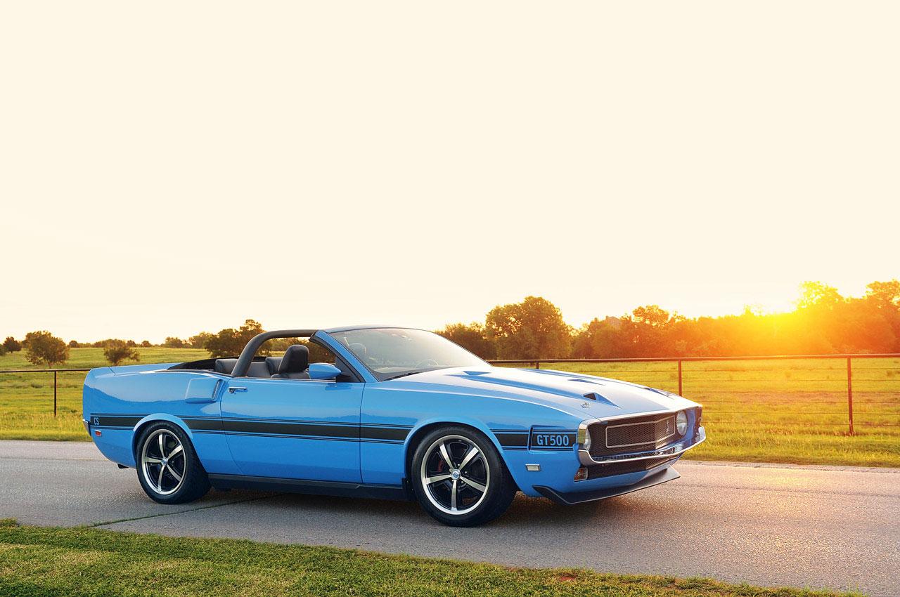 Ford Mustang předělán do retro stylu 2