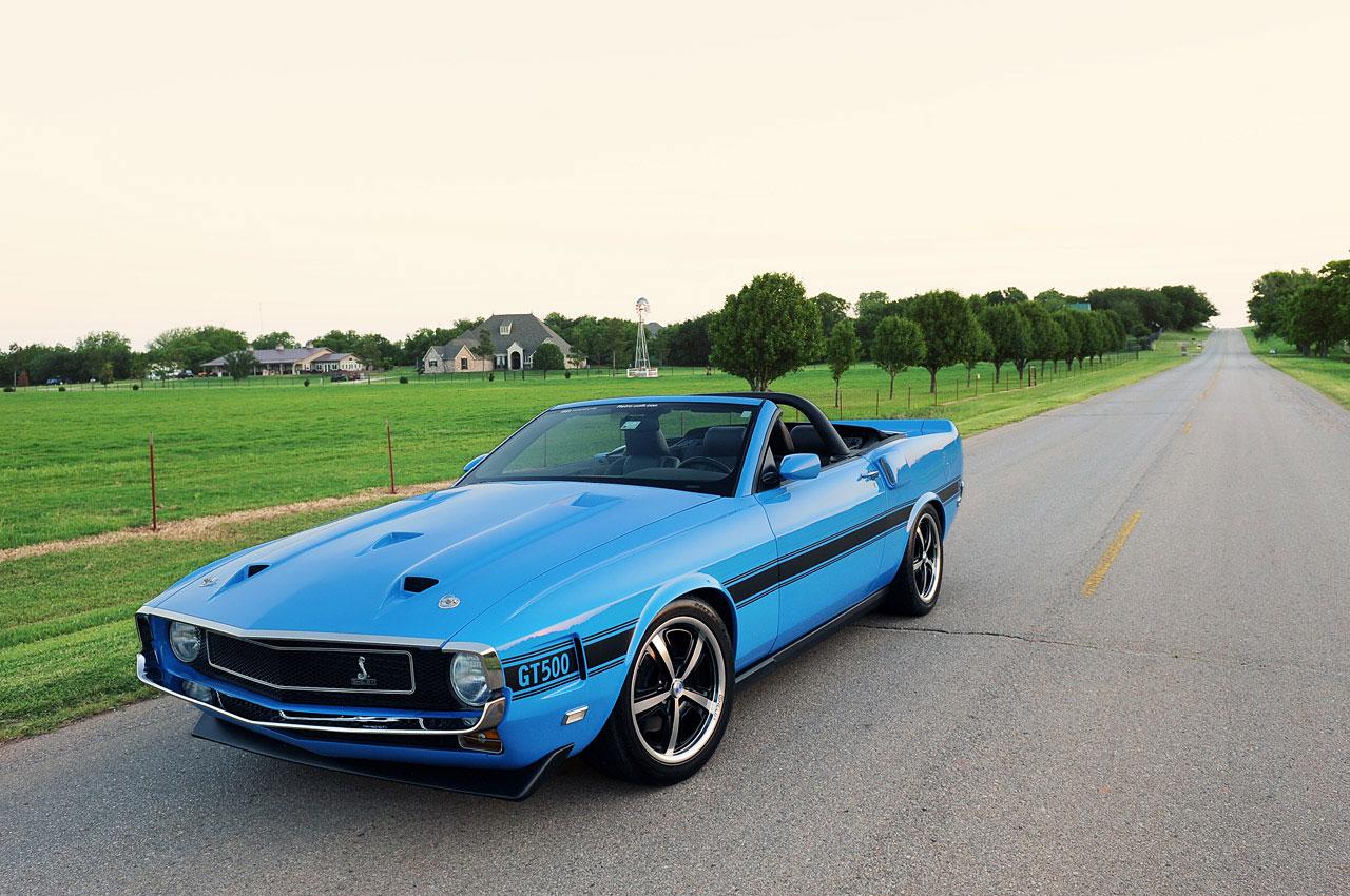 Ford Mustang předělán do retro stylu 4
