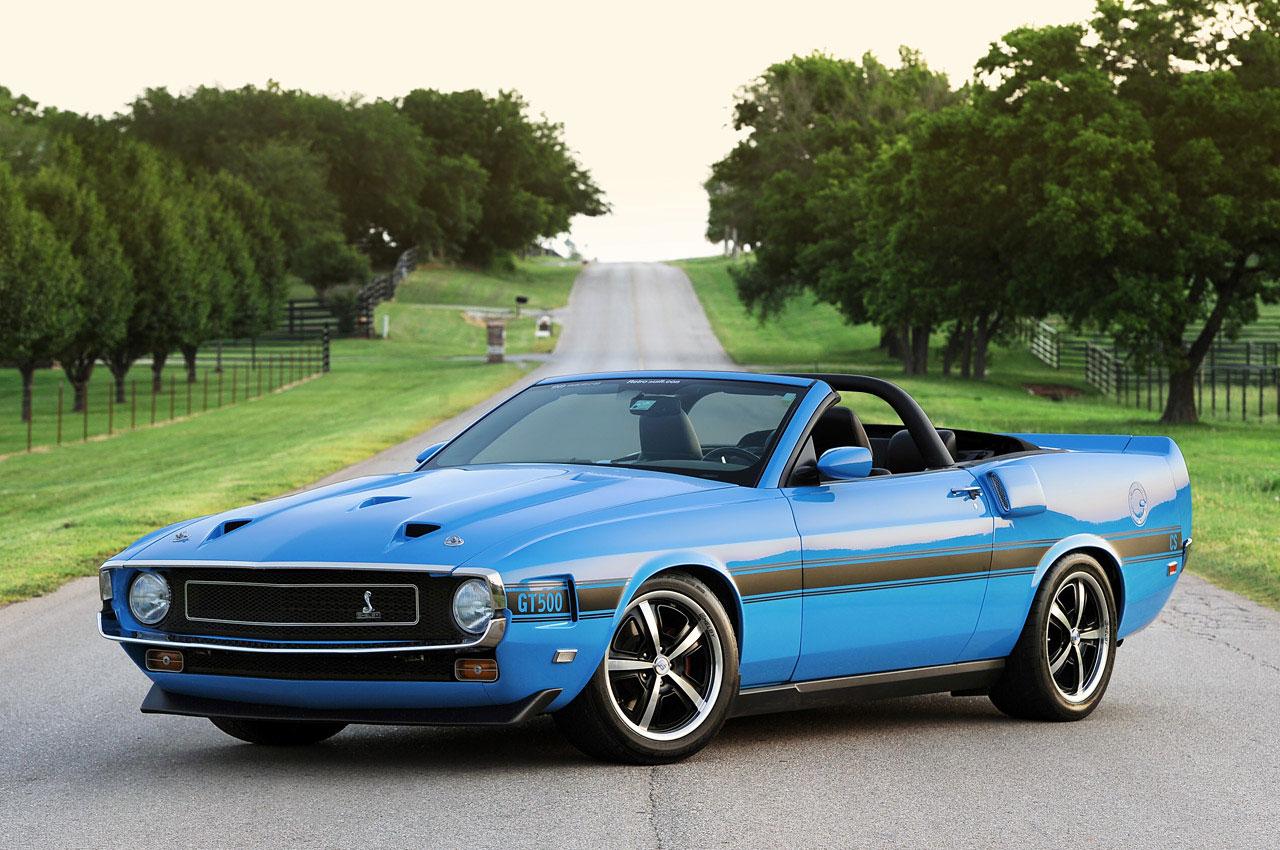 Ford Mustang předělán do retro stylu 5