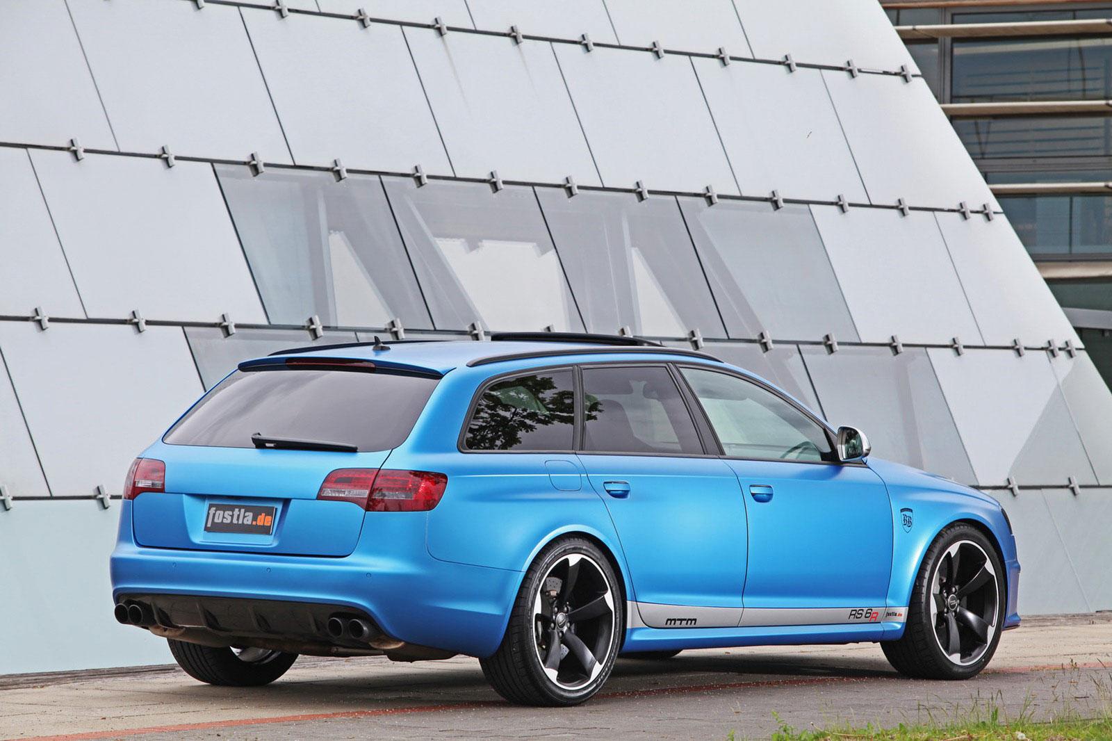 Fostla a MTM vytvořili velmi našlapané Audi RS6 Avant 4