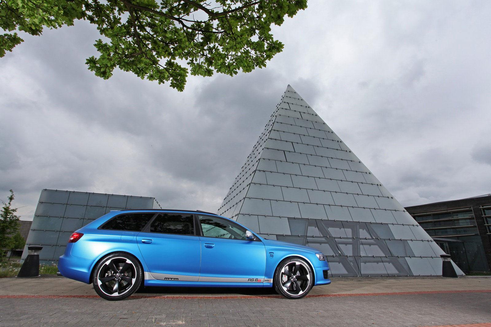 Fostla a MTM vytvořili velmi našlapané Audi RS6 Avant 5