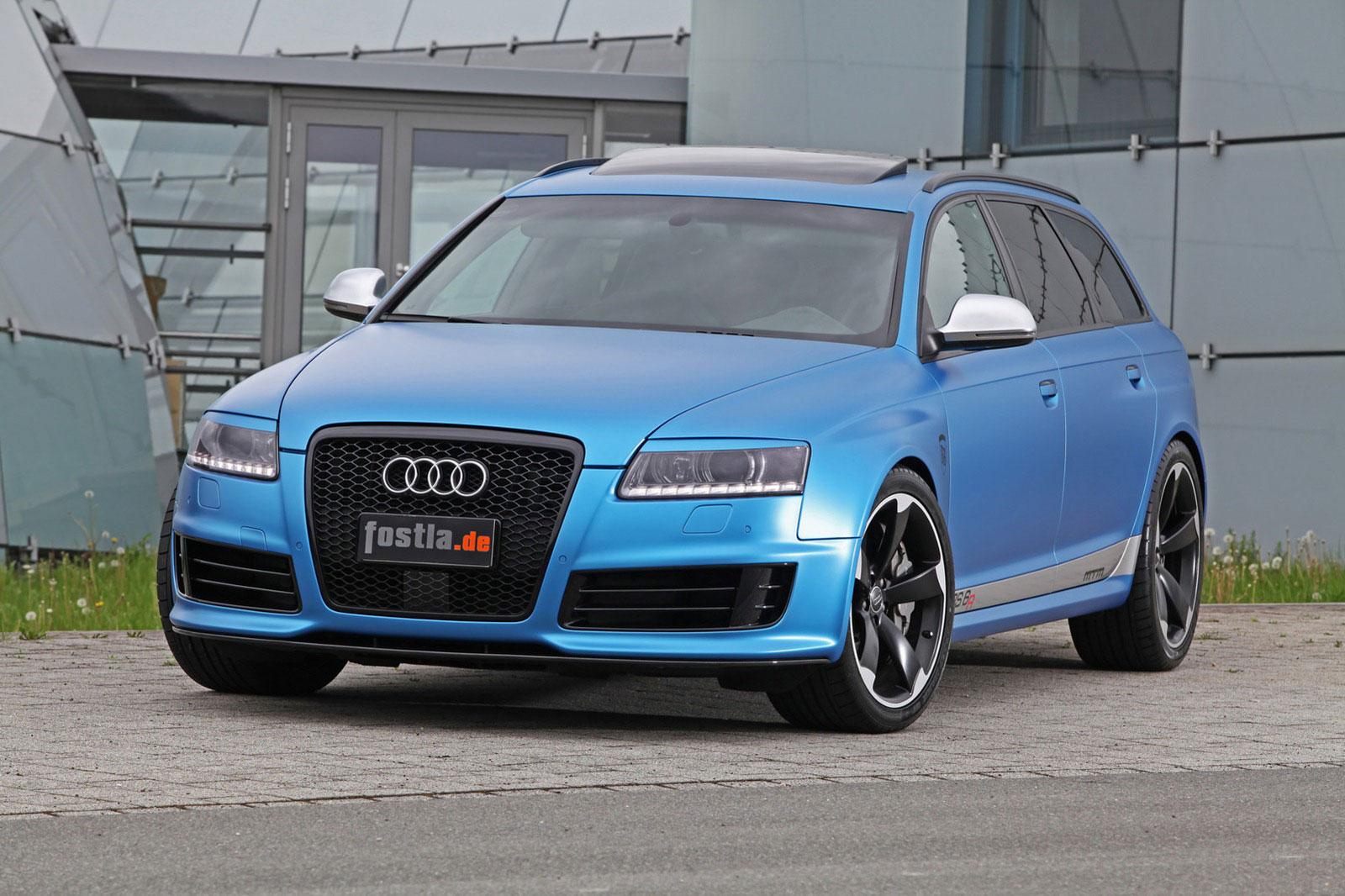 Fostla a MTM vytvořili velmi našlapané Audi RS6 Avant 6