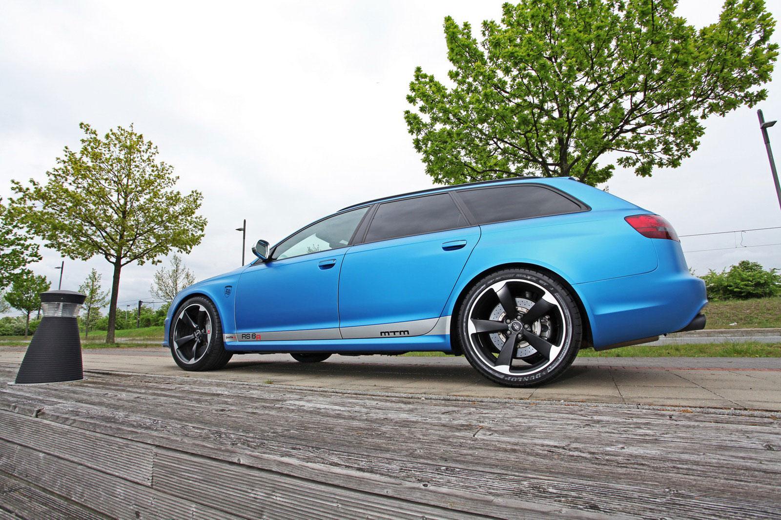 Fostla a MTM vytvořili velmi našlapané Audi RS6 Avant 8