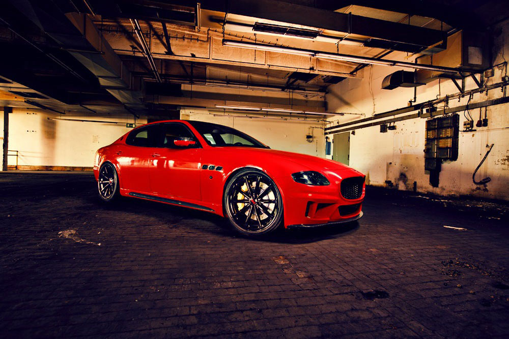 Maserati Quattroporte v novém stylu od CDC Performance 2