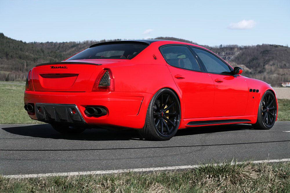 Maserati Quattroporte v novém stylu od CDC Performance 7