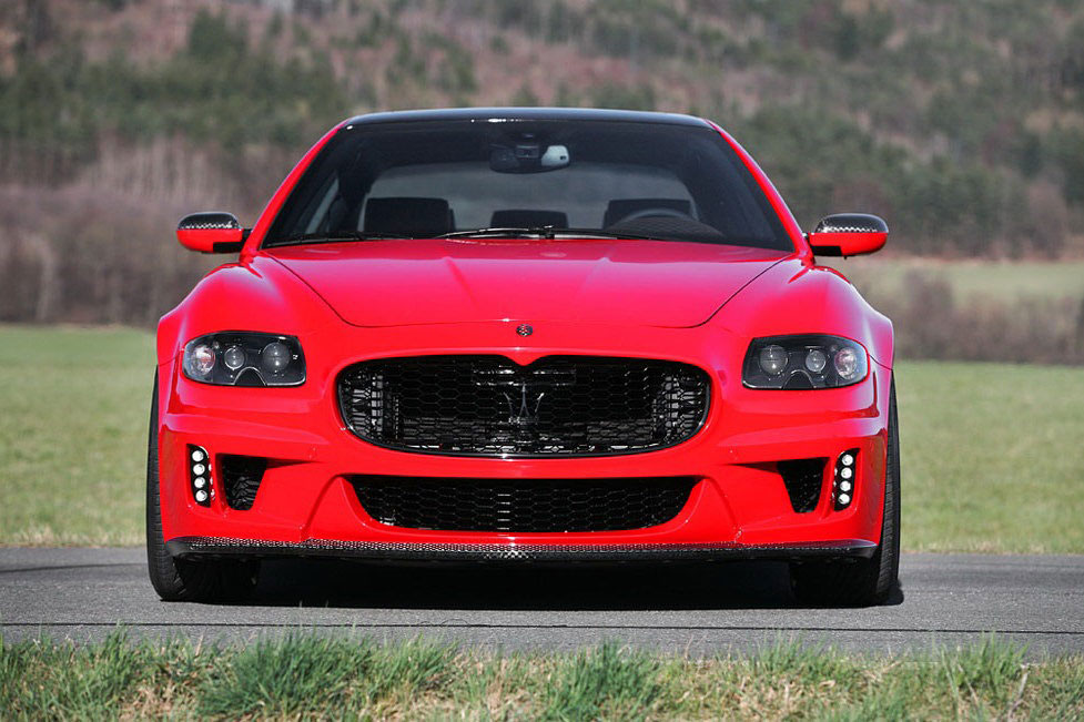 Maserati Quattroporte v novém stylu od CDC Performance 8
