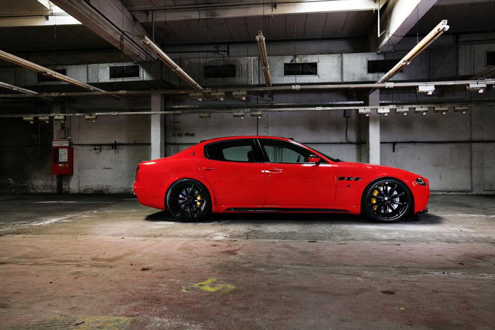 Maserati Quattroporte v novém stylu od CDC Performance 9