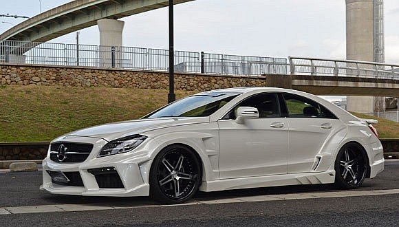 Mercedes-Benz CLS v agresivním hávu od VITT Performance 3