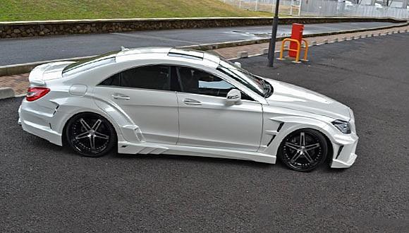 Mercedes-Benz CLS v agresivním hávu od VITT Performance 5