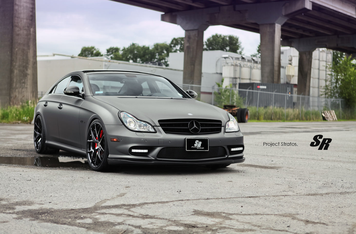 Mercedes-Benz CLS63 AMG jako Project Stratos 3