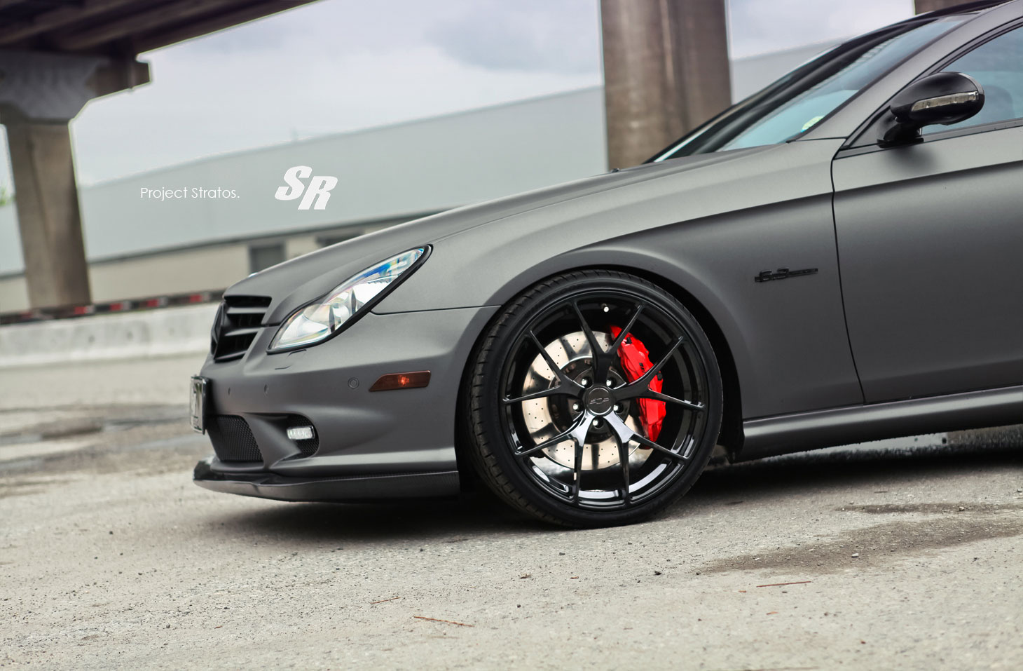 Mercedes-Benz CLS63 AMG jako Project Stratos 5