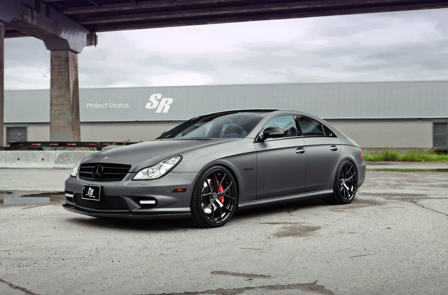 Mercedes-Benz CLS63 AMG jako Project Stratos 6
