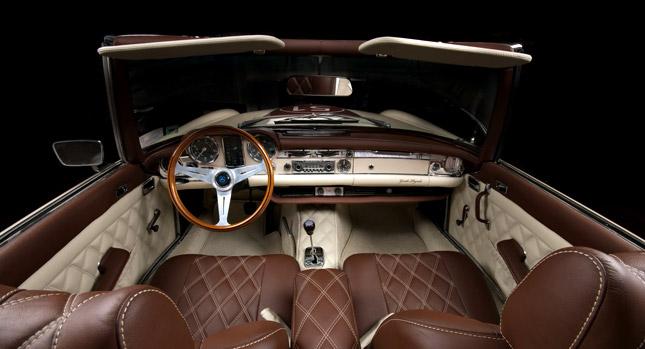 Mercedes-Benz SL z 60. let prošel lehčí modernizací 1