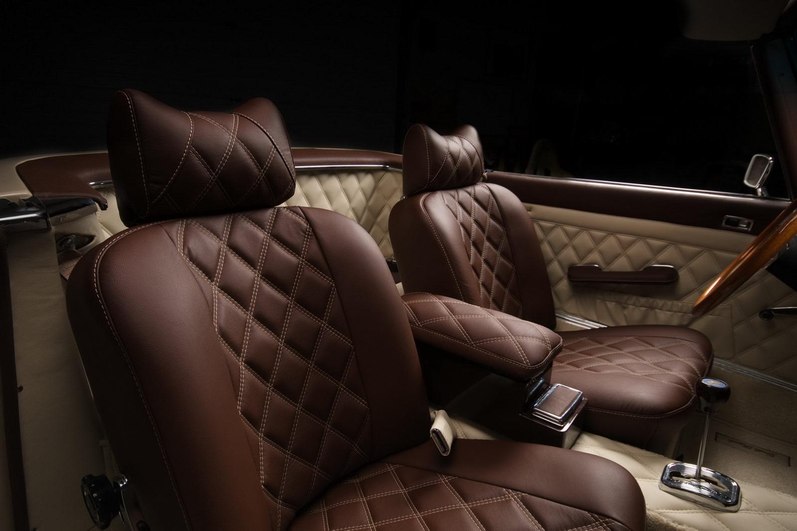 Mercedes-Benz SL z 60. let prošel lehčí modernizací 10