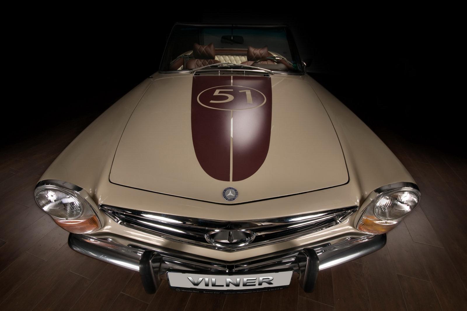 Mercedes-Benz SL z 60. let prošel lehčí modernizací 2