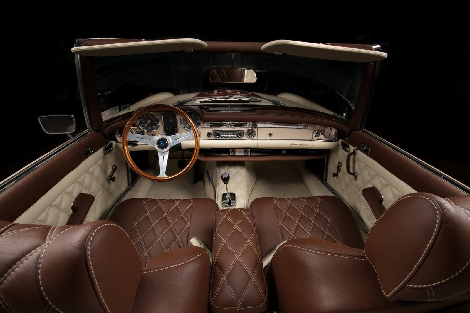 Mercedes-Benz SL z 60. let prošel lehčí modernizací 5