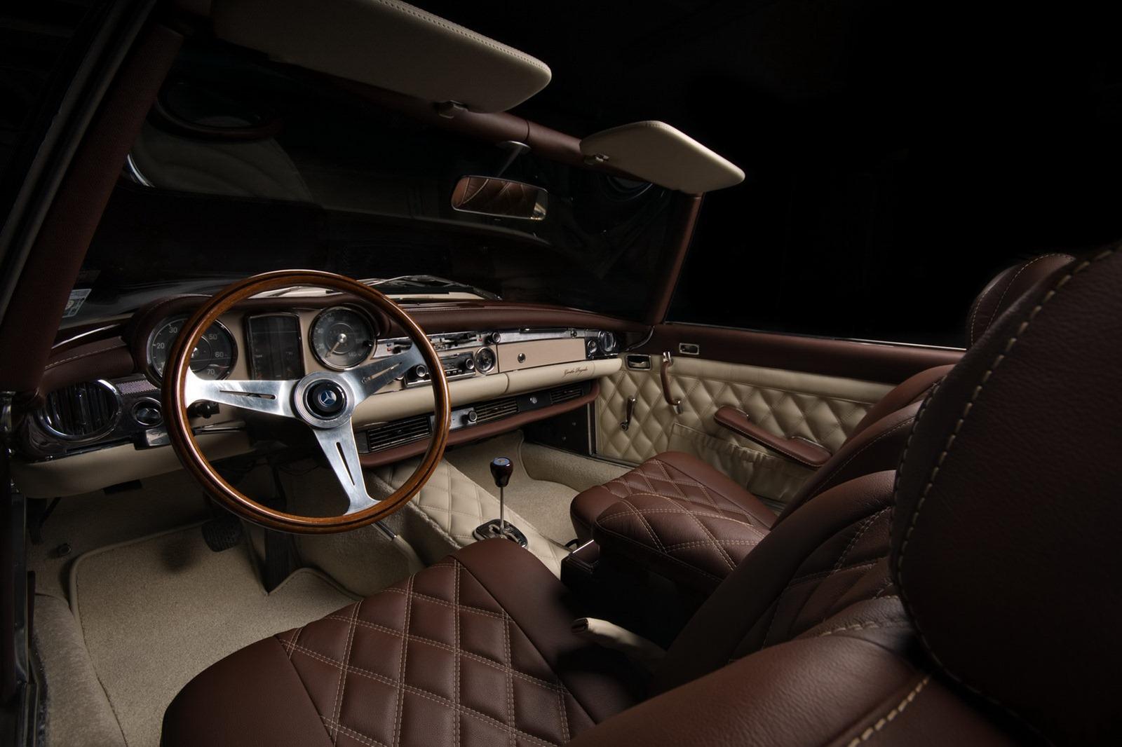 Mercedes-Benz SL z 60. let prošel lehčí modernizací 7