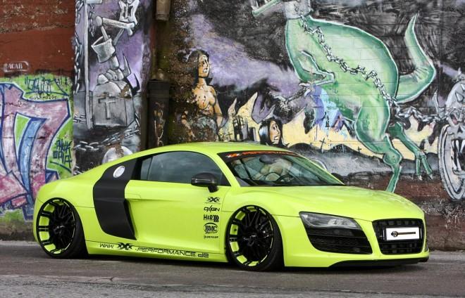 Našlapané Audi R8 od XXX Performance 1