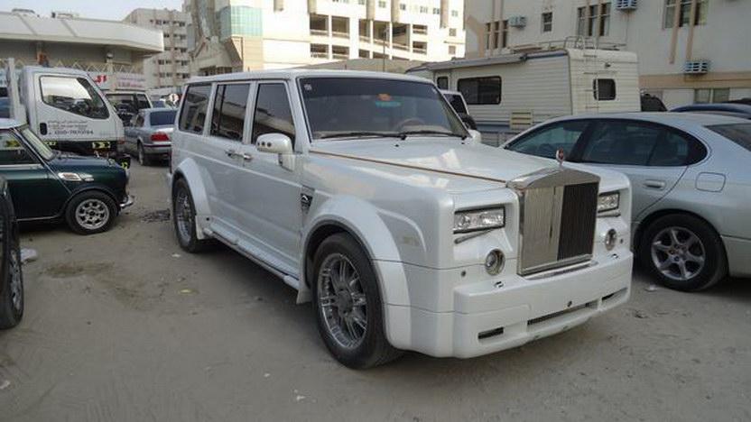 Nissan Patrol jako Rolls-Royce Phantom v dubajském stylu 3