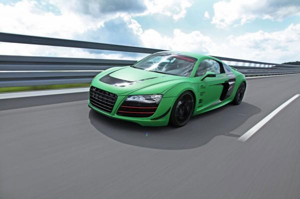 Zelené Audi R8 od německých tunerů Racing One 1
